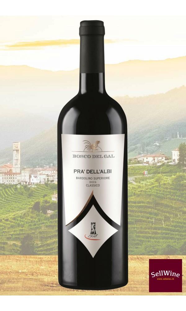 """SellWine-Cantina Castelnuovo del Garda Bosco del Gal """"Prà dell'Albi"""" Bardolino Superiore DOCG Classico 2015"""
