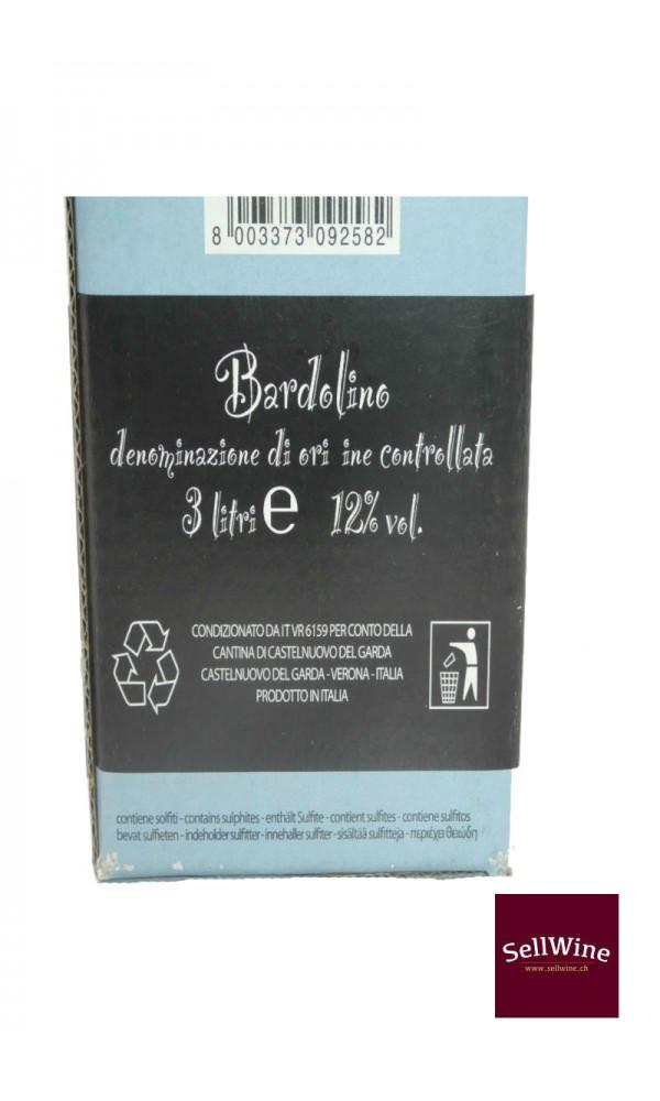 SellWine-Cantina Castelnuovo del Garda Bardolino DOC Bag in Box 3 L-Etichetta