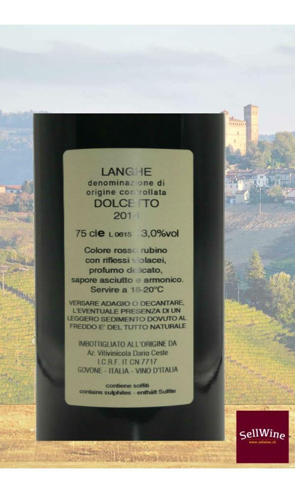 SellWine-Dario Ceste Langhe DOC Dolcetto 2014 -Etichetta2
