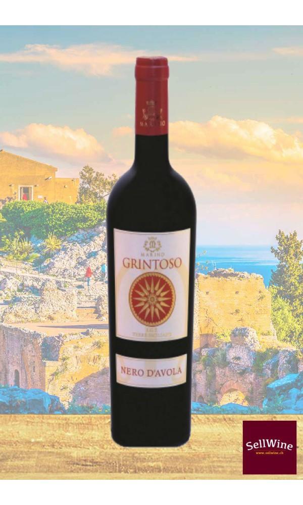 SellWine-Marino Vini Grintoso Nero d'Avola Terre Siciliane IGT 2015