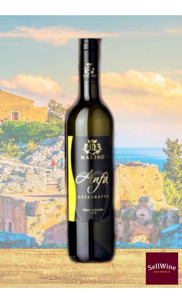 SellWine-Marino Vini Anfà Catarratto Terre Siciliane IGT 2014