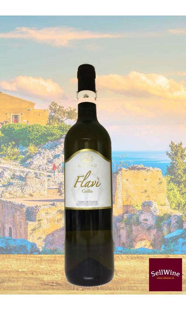 SellWine-Marino Vini Flavì Grillo Terre Siciliane IGT BIO 2015