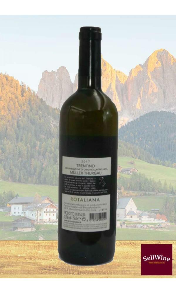 SellWine-Cantina Rotaliana Müller Thurgau Trentino DOC 2017-Etichetta1