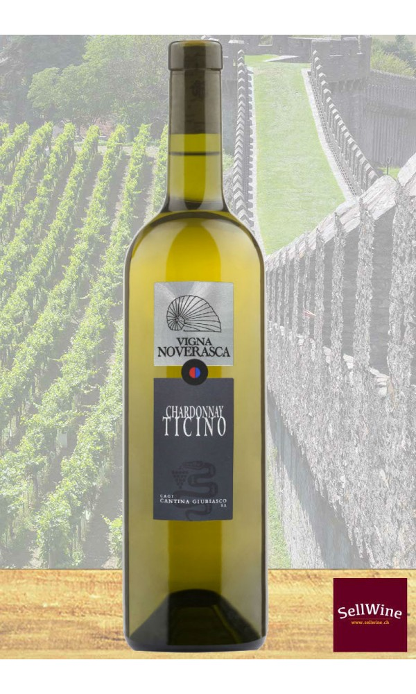 SellWine / CAGI Cantina Giubiasco Vigna Noverasca Ticino DOC Chardonnay Barricato 2016