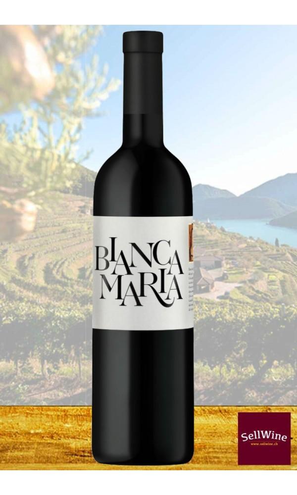 Tenuta Castello di Morcote BIANCA MARIA Vino Bianco Merlot Svizzera Italiana IGT