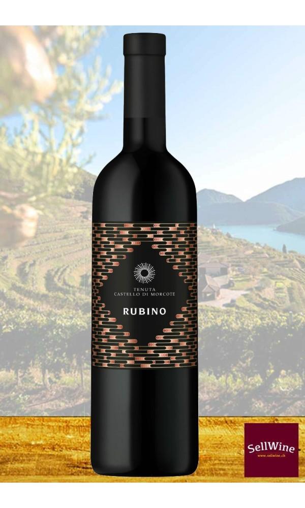 Tenuta Castello di Morcote RUBINO Merlot Vino Rosso Ticino DOC