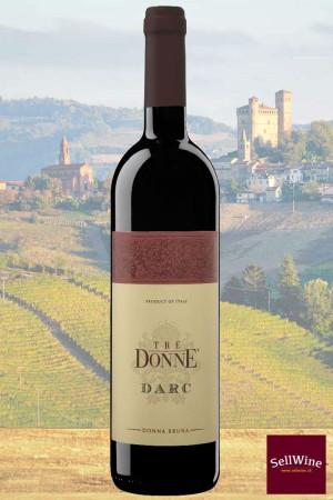 SellWine-Tre Donne DARC Vino Rosso Piemonte Donna Bruna