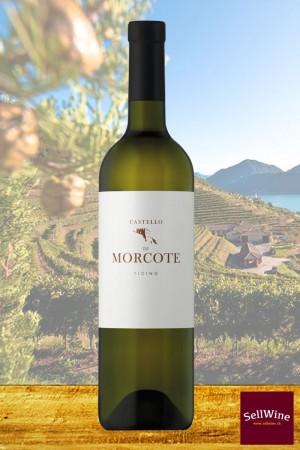 Tenuta CASTELLO DI MORCOTE BIANCO Merlot Vino Bianco Ticino DOC Biologico