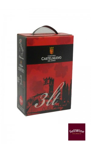 SellWine-Cantina Castelnuovo del Garda Merlot Bag in Box 3 L
