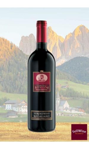 SellWine-Cantina Rotaliana Teroldego Rotaliano DOC Etichetta Rossa 2015