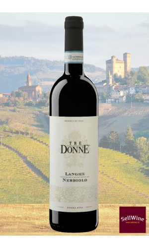 SellWine-Tre Donne Langhe DOC Nebbiolo Donna Nera 2015