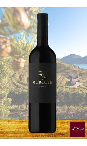 Tenuta CASTELLO DI MORCOTE Merlot vino rosso Ticino DOC Biologico