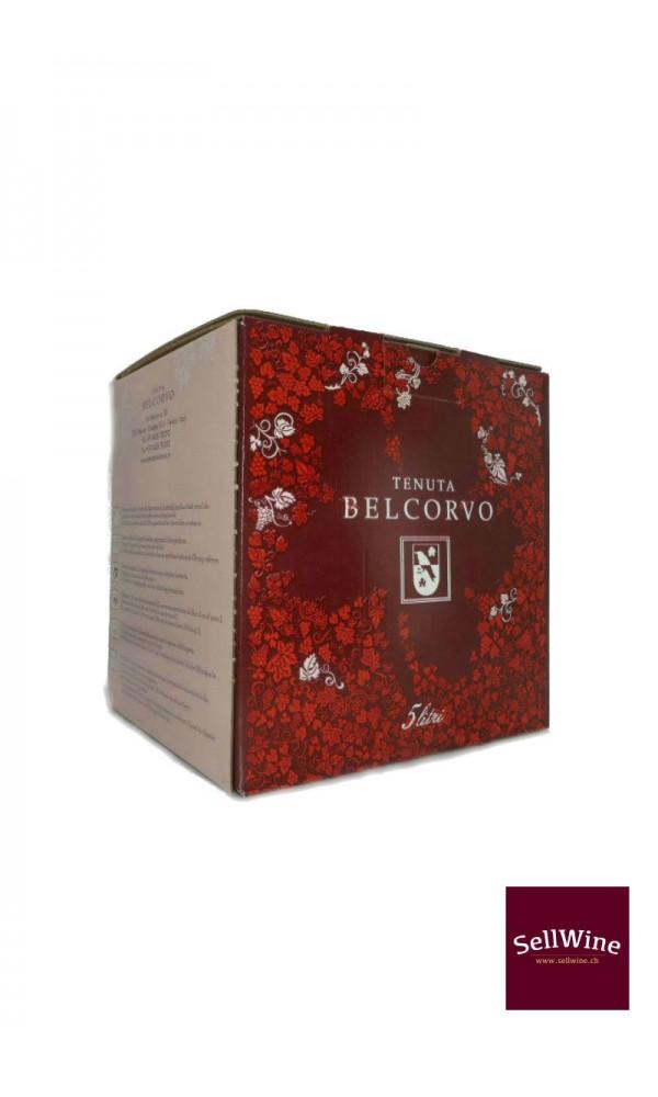 """SellWine-Tenuta Belcorvo Bag in box """"Rosso Pettirosso"""" 5 L -1"""