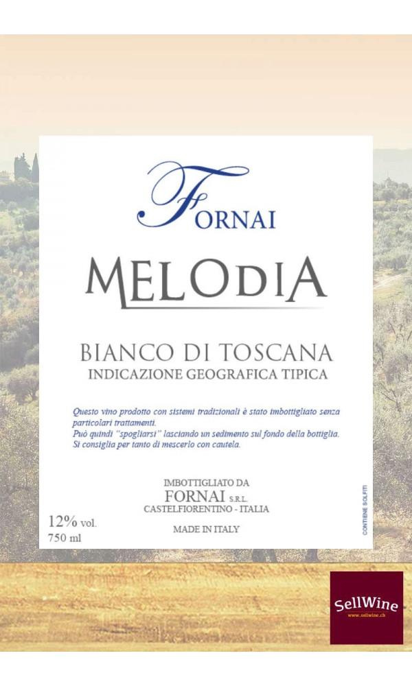 SellWine-Fornai Melodia Bianco di Toscana IGT-Etichetta2