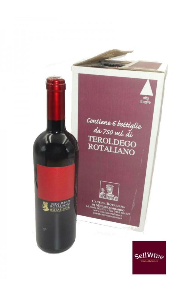 SellWine-Cantina Rotaliana Teroldego Rotaliano DOC Etichetta Rossa 2017-Box