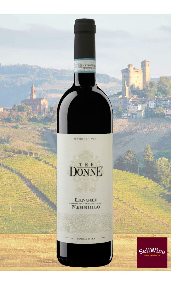 SellWine-Tre Donne Langhe DOC Nebbiolo Donna Nera 2016