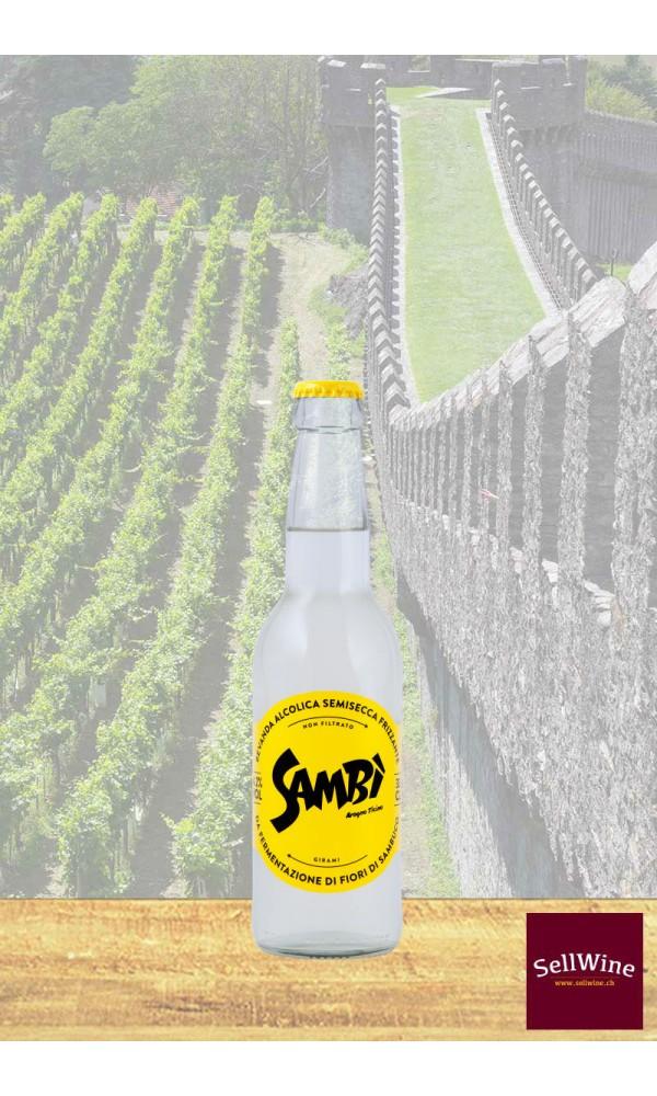 SellWine-Sambi 24* 33 CL Bibita biologica alcolica al sambuco-1