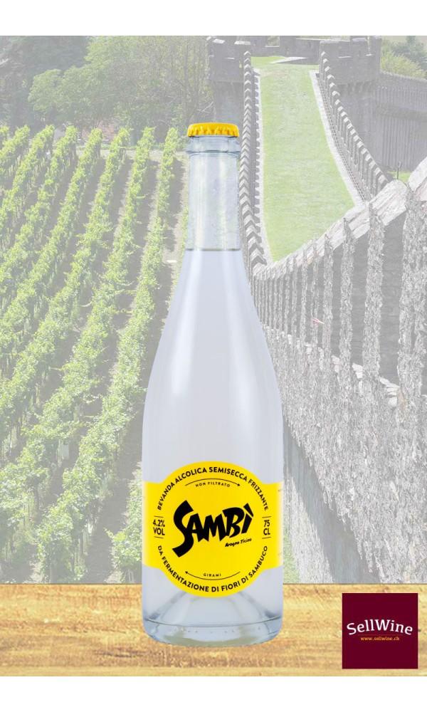 SellWine-Sambi 6*75 CL Bibita biologica alcolica al sambuco-1