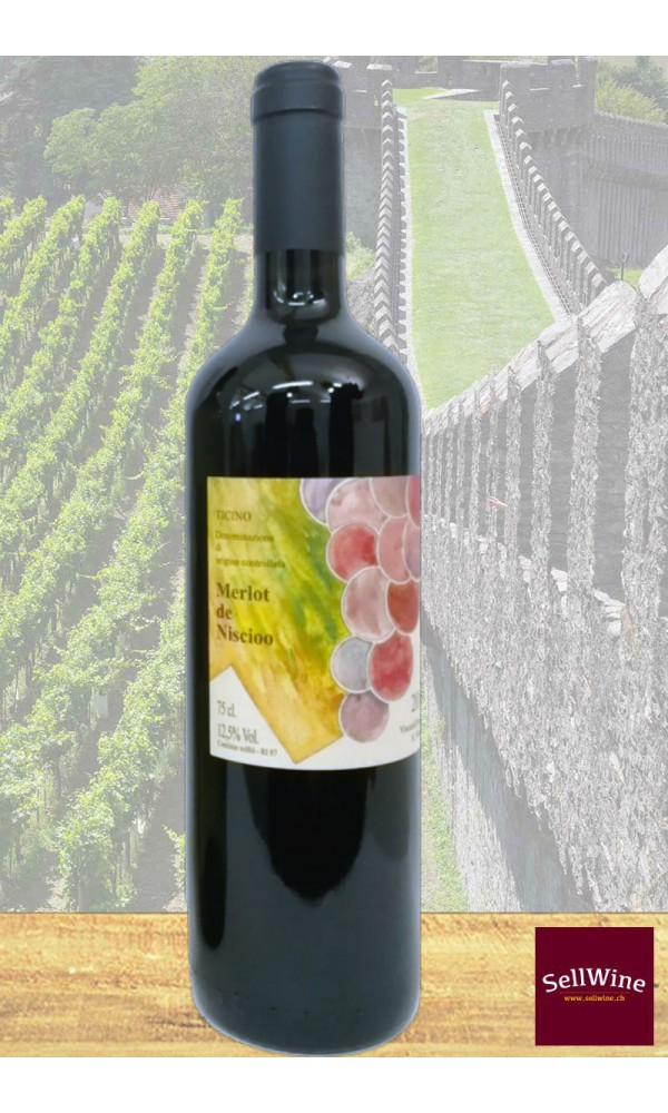 SellWine / Azienda Vitivinicola Niscioo Merlot de Niscioo Ticino DOC 2014