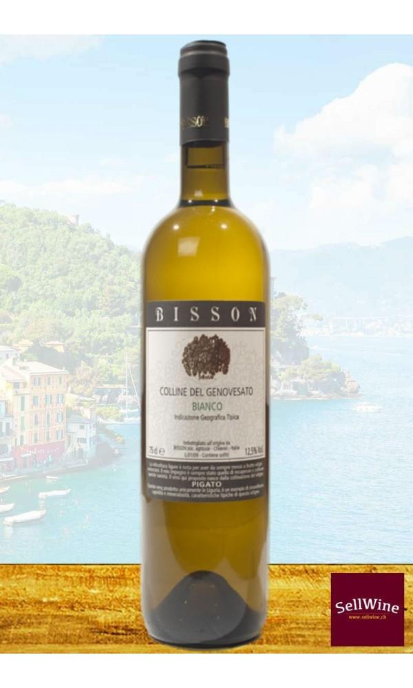 Pigato Ligurian White Wine _ Bisson Vini_Colline del Genovesato IGT
