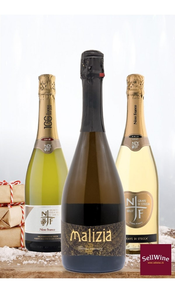 superior quality sparkling wines selection