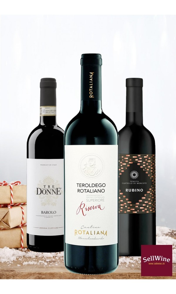 excellent red wines selection
