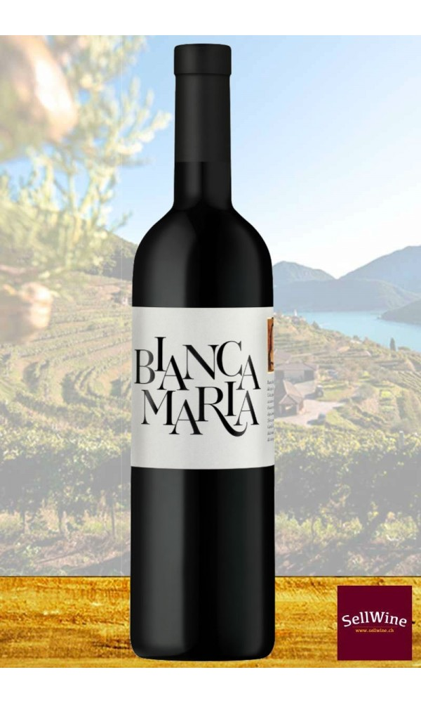 Tenuta Castello di Morcote BIANCA MARIA Merlot White Wine Swiss Italian IGT