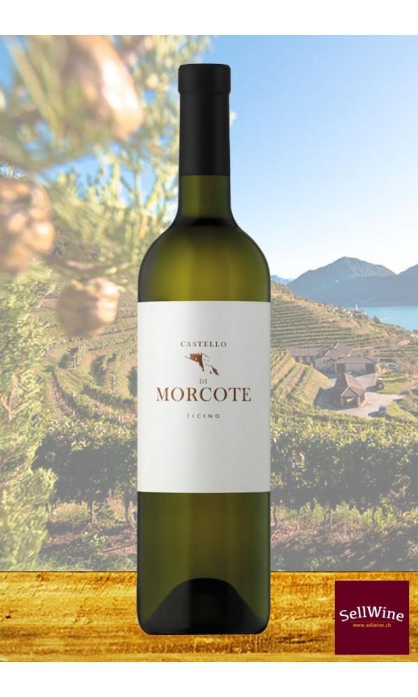 Tenuta CASTELLO DI MORCOTE BIANCO Merlot Organic White Wine Ticino DOC