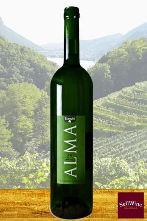 Azienda Bianchi ALMA Vino Bianco Bio Suisse IGT Svizzera Italiana 2019