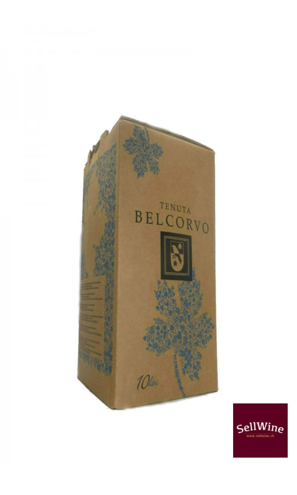 """SellWine-Tenuta Belcorvo Bag in Box """"Rosso Pettirosso"""" 10-2"""