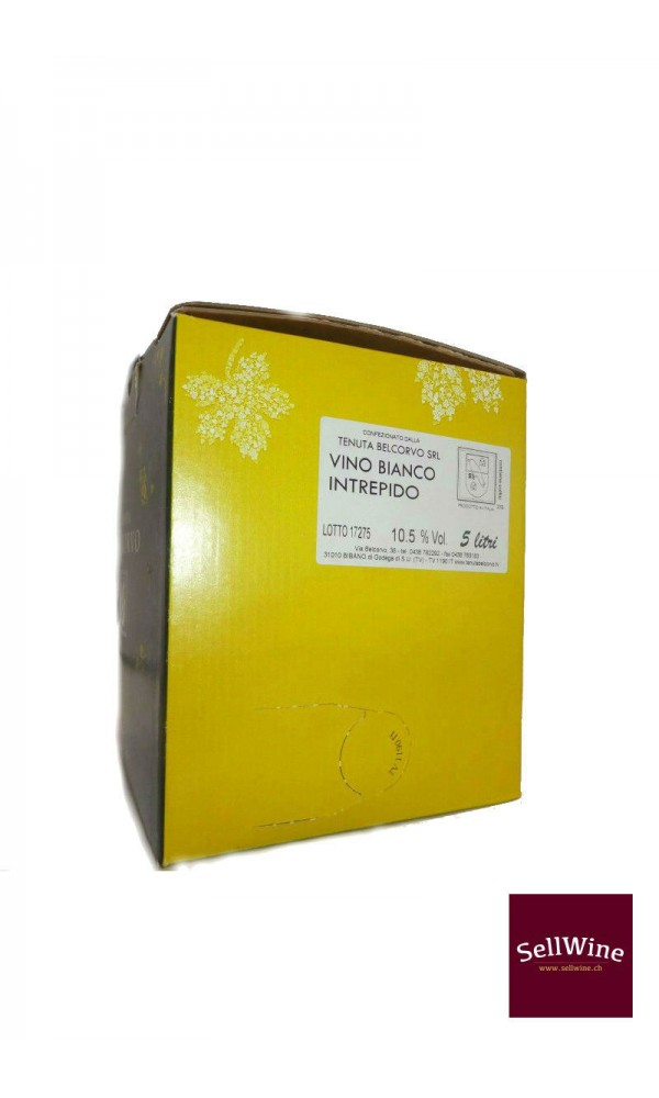 "SellWine-Tenuta Belcorvo Bag in box ""Bianco Intrepido"" 5 L-3"