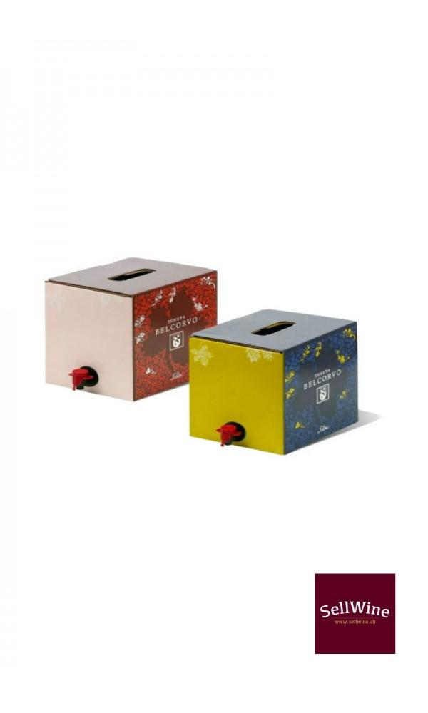 """SellWine-Tenuta Belcorvo Bag in box """"Rosso Pettirosso"""" 5 L -3"""