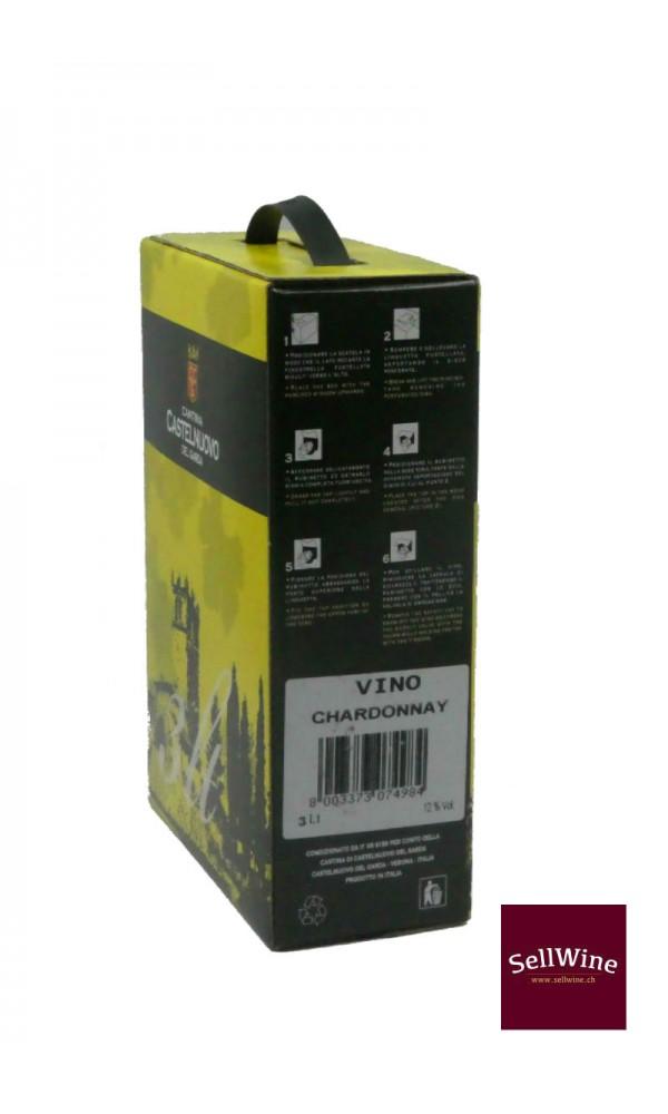 SellWine-Cantina Castelnuovo del Garda Chardonnay Bag in Box 3 L-Etichetta