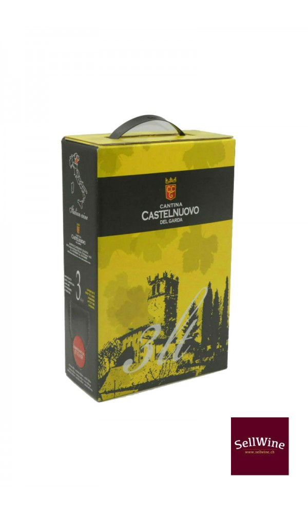 SellWine-Cantina Castelnuovo del Garda Chardonnay Bag in Box 3 L