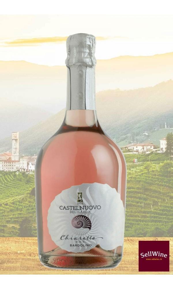 1002-1016_SellWine_Cantina Castelnuovo del Garda Chiaretto Bardolino DOC Vino Spumante Brut Rosè