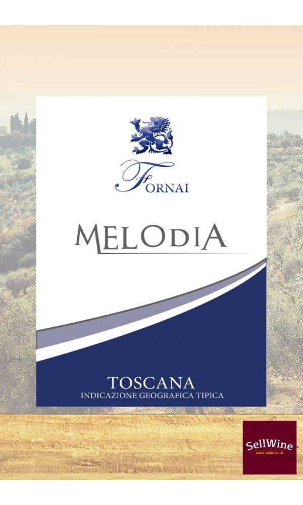 SellWine-Fornai Melodia Bianco di Toscana IGT-Etichetta1