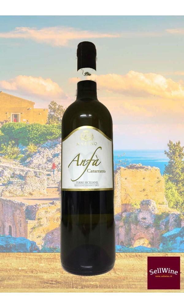 SellWine-Marino Vini Anfà Catarratto Terre Siciliane IGT Bio 2015