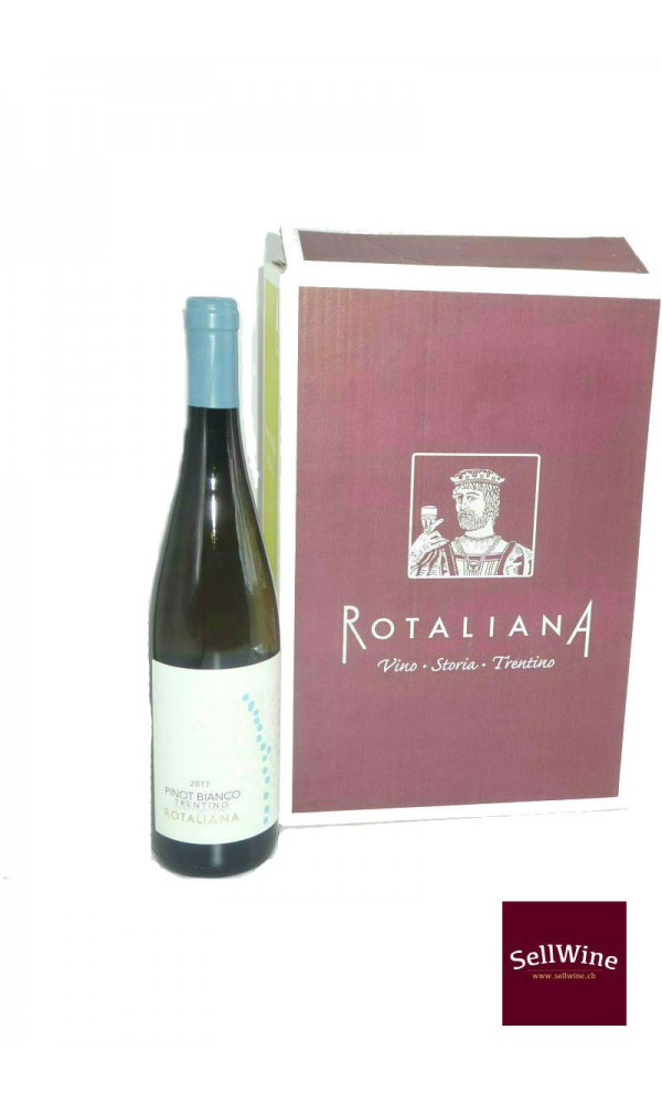 SellWine-Cantina Rotaliana Pinot Bianco Trentino DOC 2017-Box