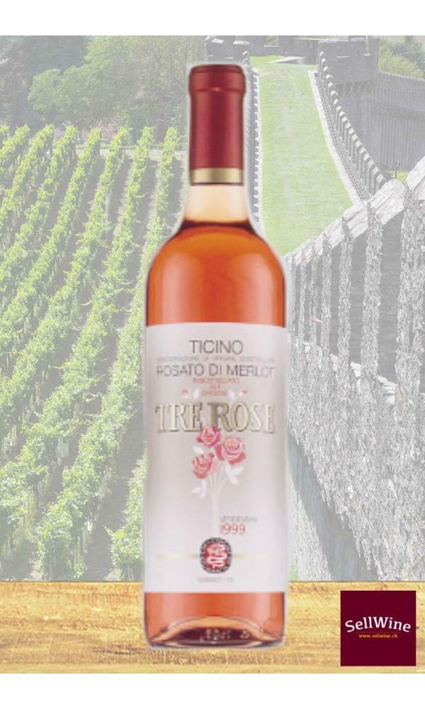 SellWine / CAGI Cantina GiubiascoTre Rose Rosato di Merlot Ticino DOC 2015