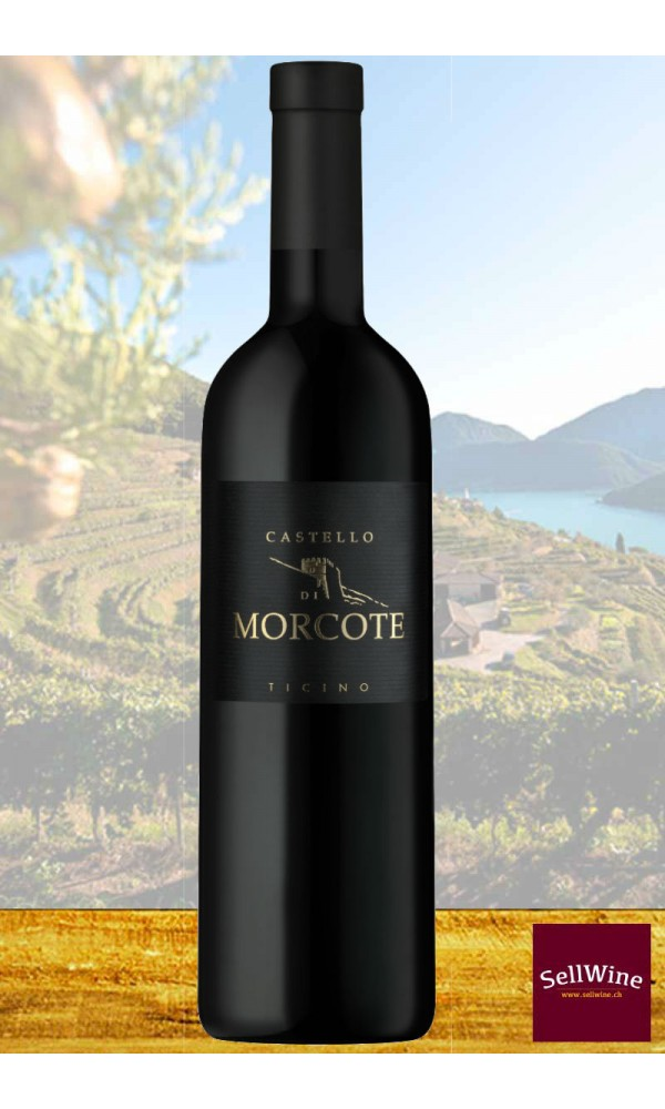 SellWine / Tenuta Castello di Morcote / Castello di Morcote / Merlot Ticino DOC 2017 Magnum