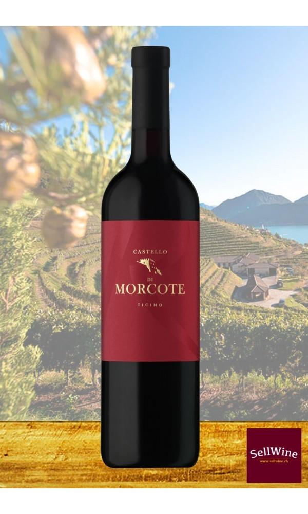 Tenuta CASTELLO DI MORCOTE RESERVE Merlot Bio-Rotwein Tessin DOC