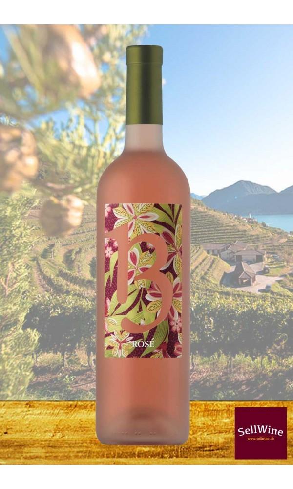 Tenuta Castello di Morcote 13 ROSÉ Wein Merlot Tessin DOC