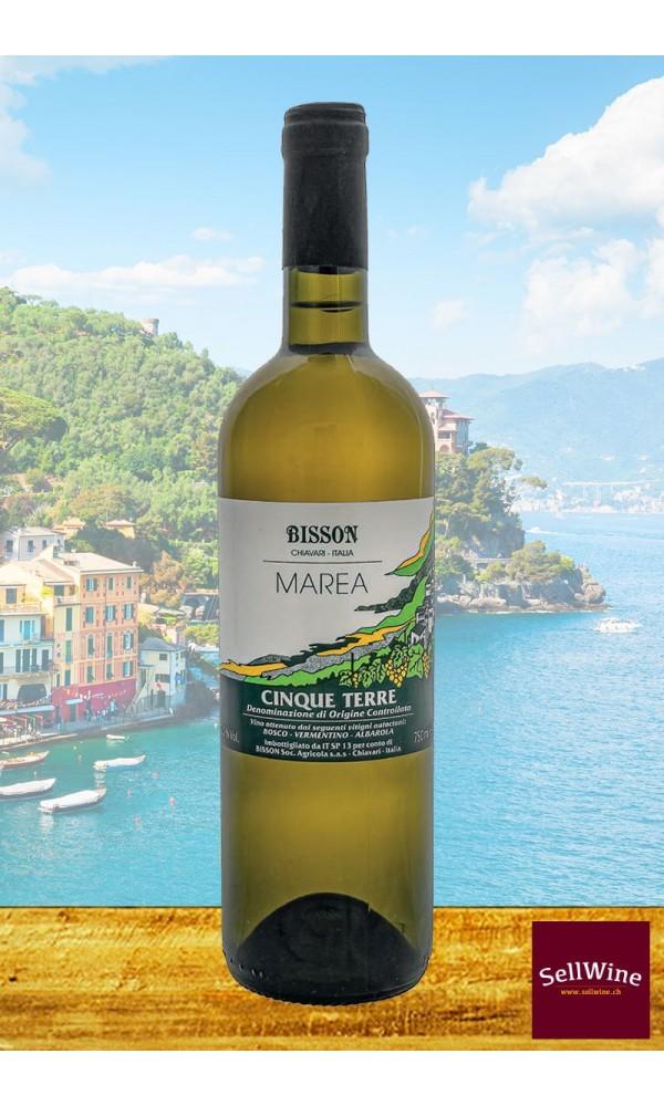 Intensiver ligurischer Weißwein Bisson Vini Marea Cinque Terre DOC