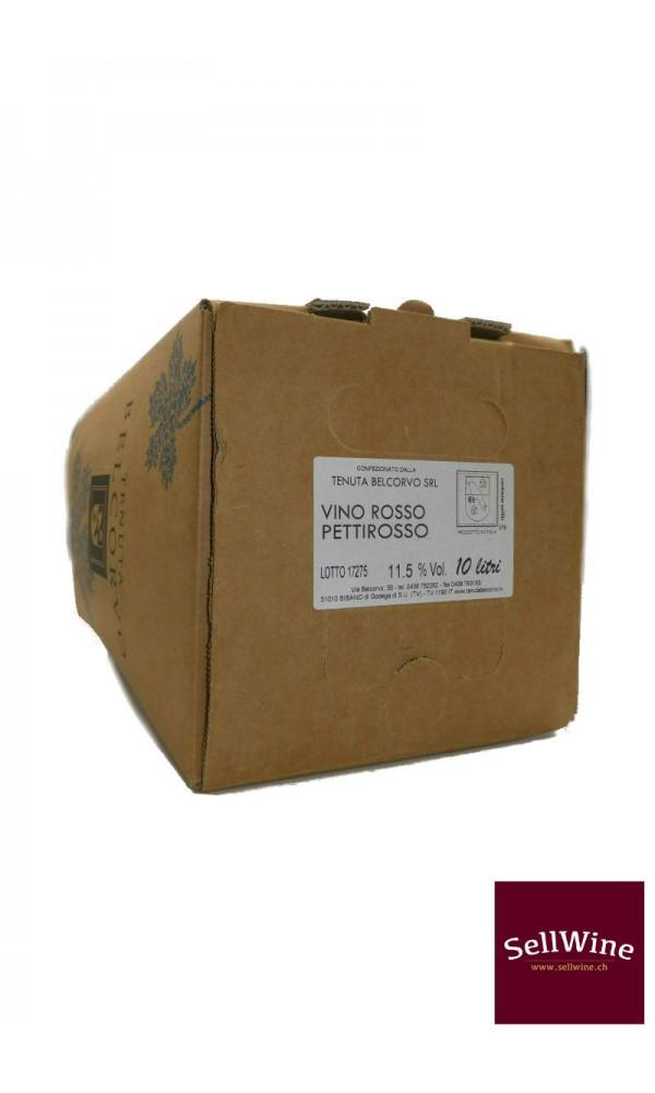 """SellWine-Tenuta Belcorvo Bag in Box """"Rosso Pettirosso"""" 10-1"""