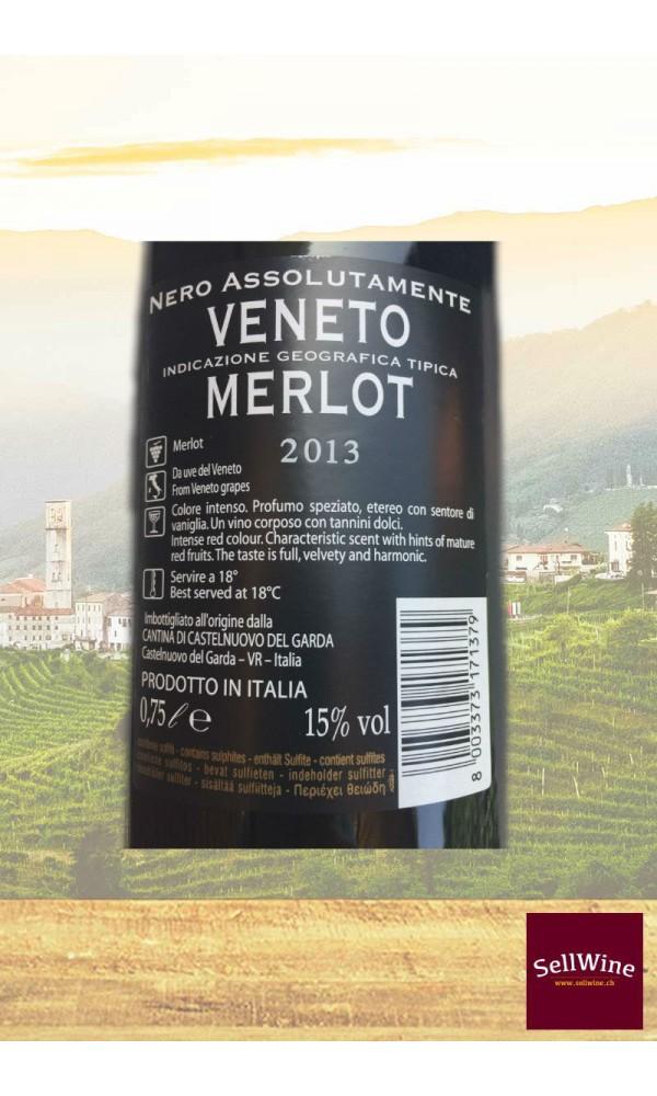 Sellwine-Cantina Castelnuovo del Garda Bosco Del Gal Nero Assolutamente Merlot Veneto IGT 2013-Etichetta