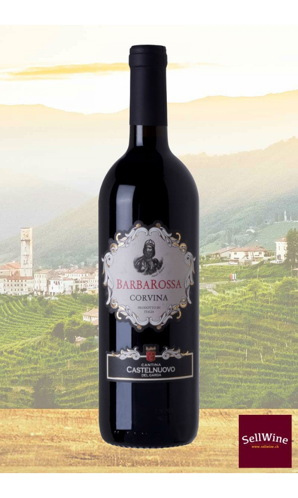 "SellWine-Cantina Castelnuovo del Garda ""Barbarossa"" Corvina Veneto IGT 2015"