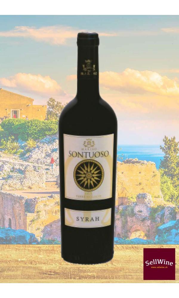 SellWine-Marino Vini Sontuoso Syrah Terre Siciliane IGT 2015