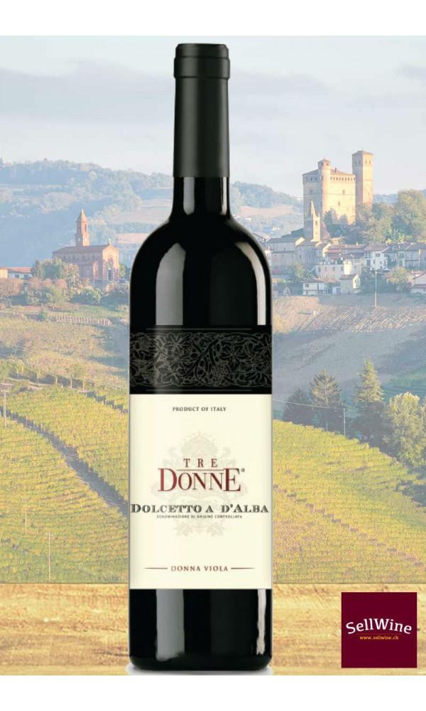 SellWine-Tre Donne Dolcetto D'Alba DOC Donna Viola 2017
