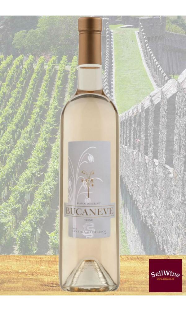 SellWine / CAGI Cantina Giubiasco Bucaneve Bianco di Merlot Ticino DOC 2018
