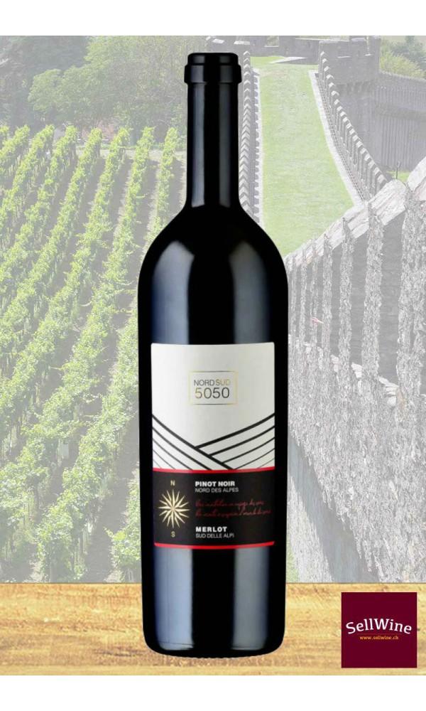 SellWine / CAGI e Caves de la Béroche Nord Sud 50 50 Merlot e Pinot nero Barricato Svizzera IGT 2014